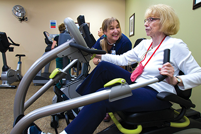 Cardiac rehabilitation at North Valley Hospital