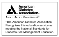 American Diabetes Association Recognition