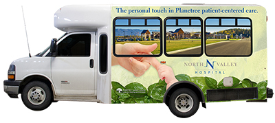 NVH bus wrap helps support the AOA/Eagle Transit program