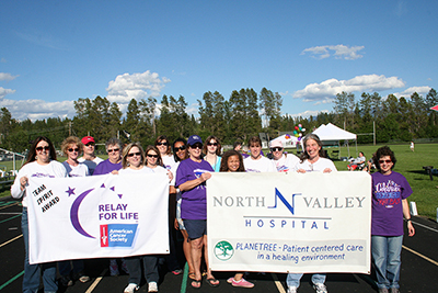 NVH Relay for Life team