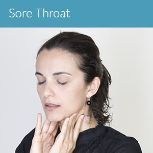 Sore throat symptoms
