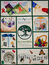 Planetree quilt