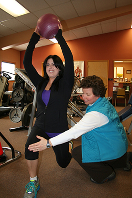 Stacy Dolan, PT, at North Valley Physical Therapy