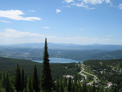 Whitefish from Big Mountain