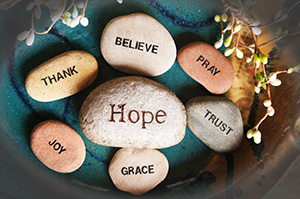Hope, trust, believe