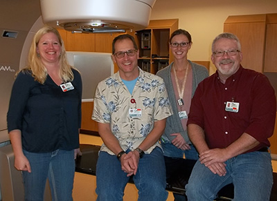 Radiation therapists at Northwest Montana Radiation Oncology