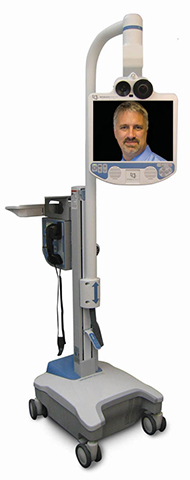 InTouch telehealth robot with doctor
